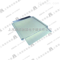 SCS上海2吨电子磅秤,不锈钢超低台面平台秤报价