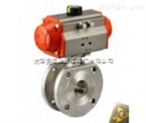 专业生产Q671气动对夹球阀