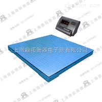 SCS二噸雙層電子地磅稱價格,有框型2T平臺電子稱