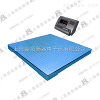 SCS二吨双层电子地磅称价格,有框型2T平台电子称