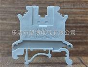 广西PA66上等尼龙材质UK2.5B接线端子,耐高温,耐腐蚀接地端子