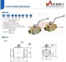 KHB-3/8NPT_内螺纹高压球阀