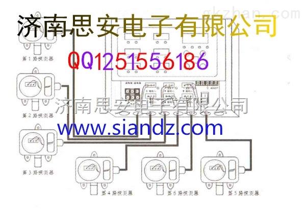 山东潍坊陕西西安液氨报警器有毒塑料报警器5w尖泡外壳气体图片