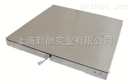 1m×1m电子地磅秤/1米可做2吨地磅秤/嘉定电子地磅秤价格