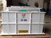 牡丹江饮用水消毒设备  进口施耐德PLC作为中央控制器