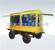 潍柴华丰100KW柴油发电机组配科浦电机拖车式发电机组咨询
