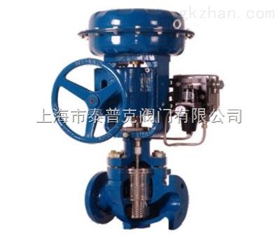 电动低噪音笼式调节阀(解剖图),上海阀门直销厂,精品图片
