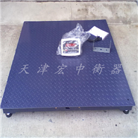 SCS-5T湘潭5吨电子平台秤(1.5米电子磅加厚型买多少钱)