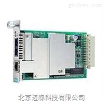 moxa插片式以太网转光纤光电转换器