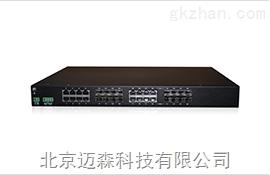 全千网管型机架式工业交换机MS24AC-G系列