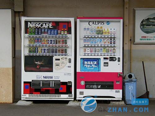 日本成自动贩卖机大国