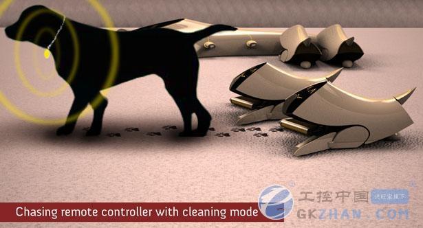 机器人吸尘器则不仅能够清理宠物脱落的毛发,同时还需要非常可爱的