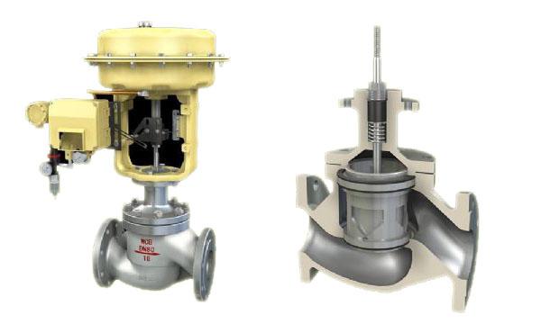 zjhm精小型气动套筒调节阀图片