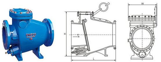 2,具有阀瓣轻,开度大,节电效果显著, 3,流体阻力小,水锤消除机构设计图片