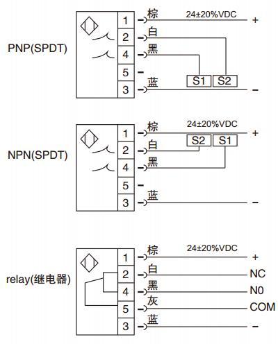 电子式流量开关线路图